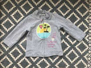 Zara Girls gray jacket
