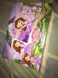 Sofia the First 2x48 puzzle