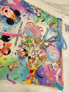 日本東京迪士尼 35週年證件套/卡夾/零錢包