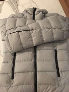 Addidas new goose down jacket size S