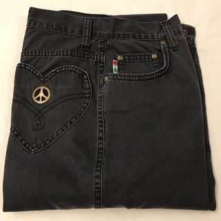 Vintage Moschino High Waisted Mom Jeans