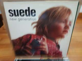 Suede New Generation 12 Inch Vinyl LP Original Pressing Rare