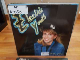 Debbie Gibson Electric Youth Vinyl LP Original Pressing Rare