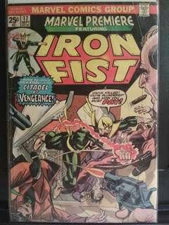 Marvel 3rd App of Iron Fist