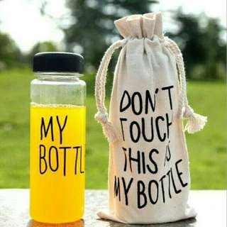 My bottle 500ml (free pouch)