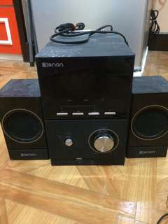Defective stereo