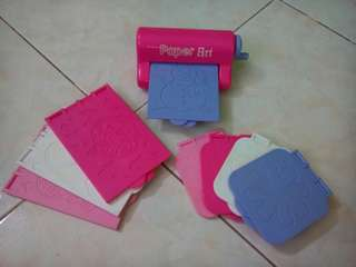 Paper Embossing Toy