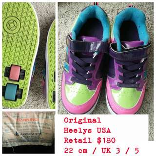 REDUCED Heelys Shoes for kids