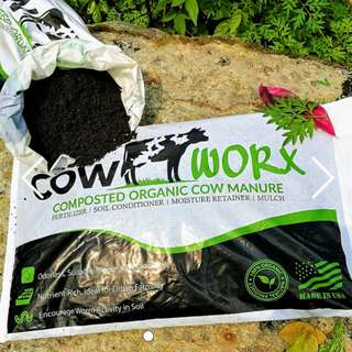 🚚 Cow Worx - Composted cow manure from USA