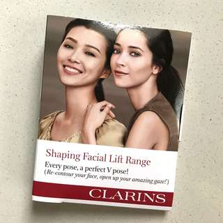 [FREE NM] Clarins Shaping Facial Lift Sample Kit