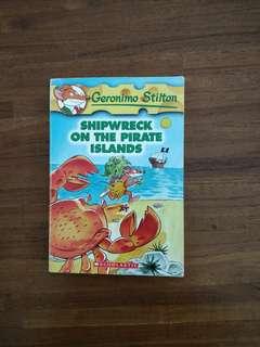 Geronimo Stilton : Shipwreck on the Pirate Island