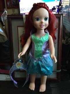 "20"" Talking and light Up Princess Ariel"