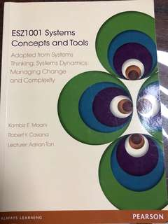 System concepts and tools