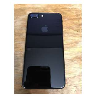 iPhone 7 + 256gb jet black