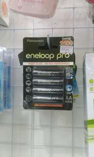 Eneloop pro rechargable battery