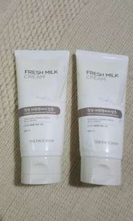 THE FACE SHOP Daegwallyeong Fresh Milk Cream 100ml
