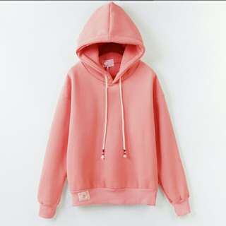 Instock Pink Hoodie ( on hold )