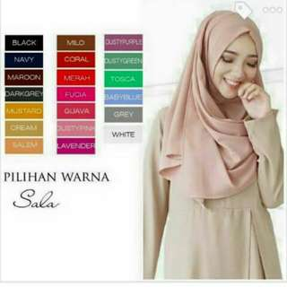 Hijab pashmina instan Best seller