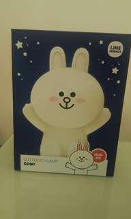 (交換)Line friends Cony 兔兔LED燈賣$200/或換 Brown 熊大同款LED燈