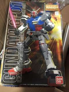 Bandai MG 1:100 高達模型 RX-78 GP01 Gundam Master Grade Model Kit