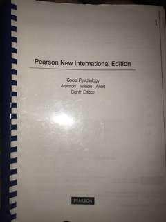 Social Psychology Pearson New International Edition