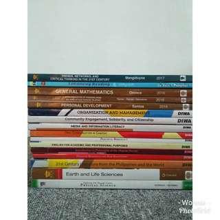 Grade 11 books ( 120 each)