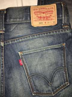 Levi's 牛仔褲 Jeans 523 Men's