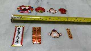 Decorative CNY stickers