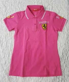 SALE: Authentic Ferrari Polo Shirt