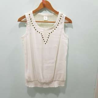 White Lace Top - BEGA
