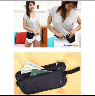 Anti-theft Travel Money Pouch Hidden Wallet Bag Invisible