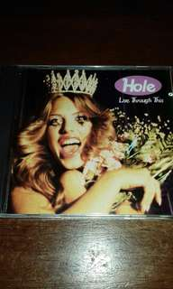 Hole Live Through This rare 1994 Alternative Rock CD Courtney love, Not Nirvana used