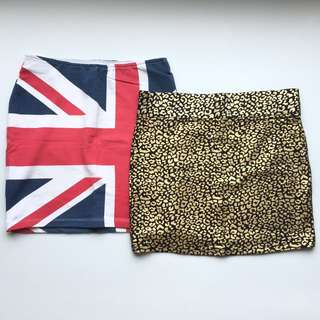Forever21 Bandage Skirt