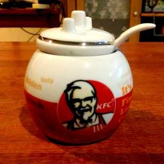 KFC Porcelain Sugar Pot