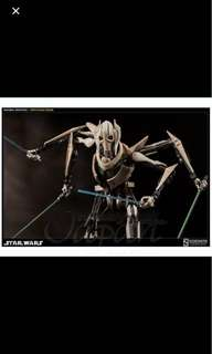 Star Wars General Grievous Sideshow Collectibles