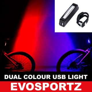Dual Colour USB Rechargeable Light