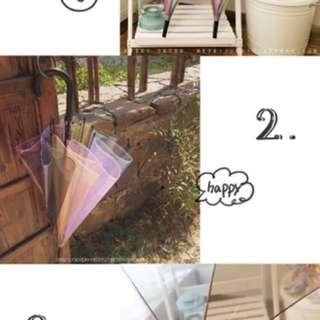彩虹傘 遮 彩虹遮 傘 日本傘 日本遮 直遮