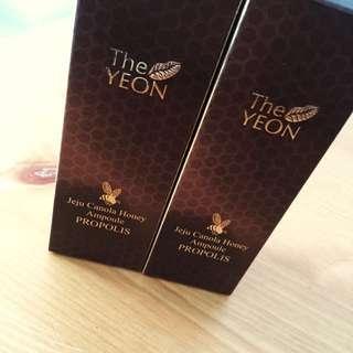 100元兩支- The YEON Jeju canola Honey Ampoule Propolis