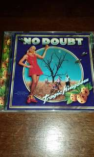 No Doubt Tragic Kingdom original USA pressing cd used Alternative Rock Pop CD Gwen Stefani