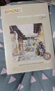 Art watercolor paper pad Creativ Company