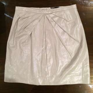 Tokito Metallic Mini Skirt
