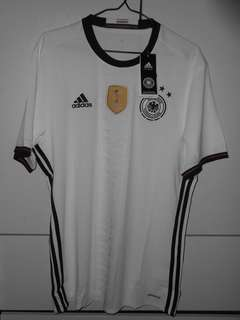 Adidas Authentic Soccer Football Germany 2016-17 Jersey Shirt Fans Home 德國 主埸 波衫 球衣 球迷版 M L XL