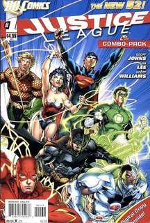 Justice League v2 #1-6, 10-11, 13, 15-17