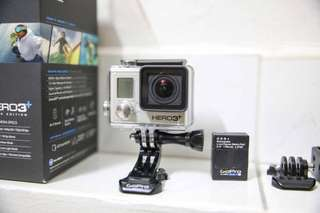 GoPro Hero 3+ (Included Touch-screen panel)