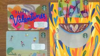 Starbucks Thailand Special Edition cards