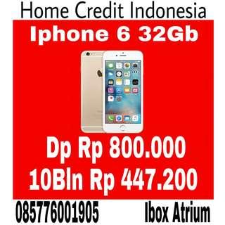 Kredit iPhone 6 32Gb, promo cash back harga terjangkau bisa cicilan tanpa kartu kredit