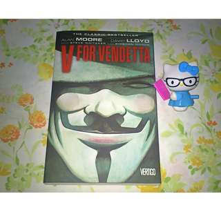 V for Vendetta by Alan Moore,  David Lloyd (Illustrator)