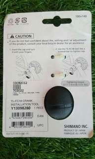 Shimano crank tool