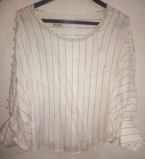 Classic Puff Sleeve Top from Korea