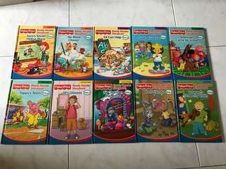 Fisher Price Ready Reader Storybooks